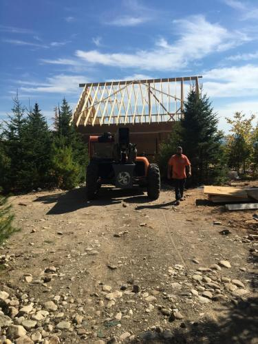 Grett Project Exterior Rafters