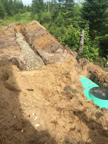 Grett Project Site Work Sewer