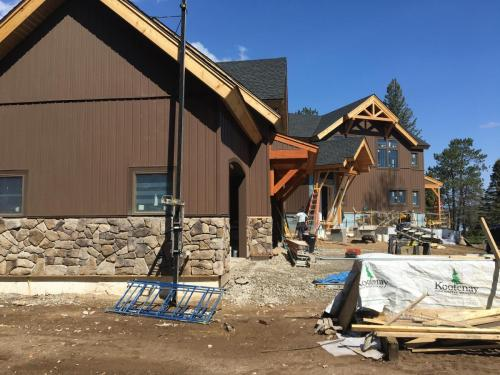 Legault Construction - Chateaugay Lake House 1