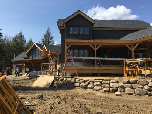 Legault Construction - Chateaugay Lake House 14